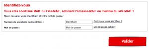 WWW.MAIF.FR - Espace Personnel, Mon Compte