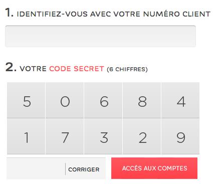WWW.HELLOBANK.FR - Espace Client, Mon Compte