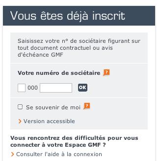 WWW.EPARGNEGMF.FR - Mon Compte Assurance Vie