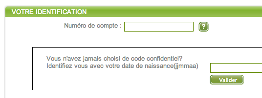 WWW.FRANFINANCE.FR - Mon Compte en Ligne