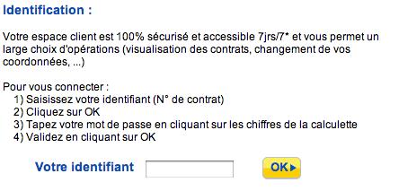 WWW.AVIVA.FR - Espace Client, Mon Compte